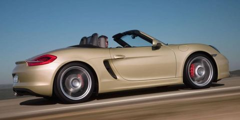 The Porsche Boxster will anchor the lower end of the German sports-car maker's lineup.