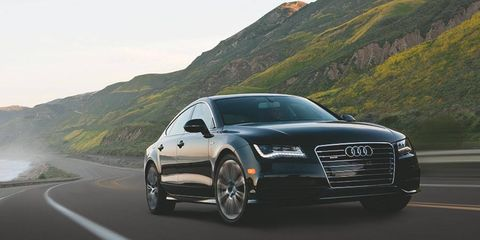 Scott Keogh takes over as president of Audi of America. The 2012 A7 is shown.