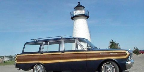 This 1965 Ford Falcon Squire wagon is currently located in $8,500