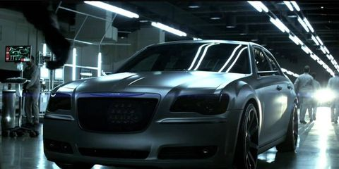 Chrysler is sponsoring a contest to make a Dark Knight/Chrysler 300S commercial.