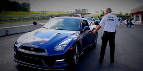 The Nissan GT-R Owners Club headed to Monticello for some hot laps.