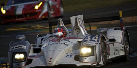 Ryan Dalziel won at the 24 Hours of Le Mans and is preparing for the rest of the season in the Grand-Am Series.