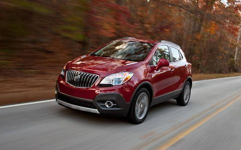 Despite its tall and slender looks, the Buick Encore handles well.