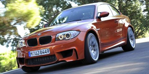 BMW plans to replace the 1-series M coupe, shown, in 2014 with an M Performance model badged M235i.