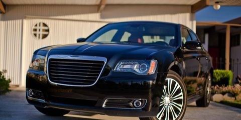 The Chrysler 300 S, perfect for a Dre day rocking gold lamé.