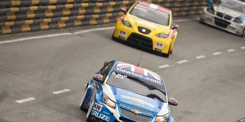 Sights such as this will be a thing of the past as Chevrolet has decided to pull out of the World Touring Car Championship.