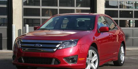 Driver's Log Gallery: 2011 Ford Fusion Sport