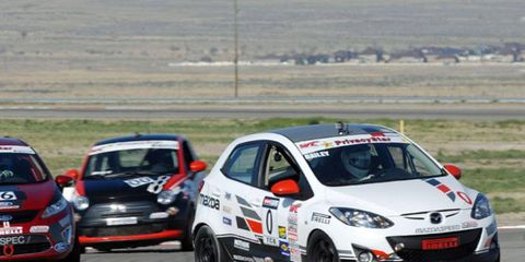 B-Spec cars have been running both Pirelli World Challenge and SCCA Club Racing events this season.