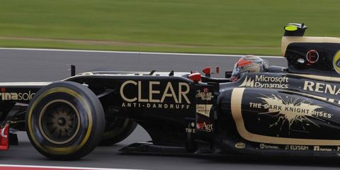 Romain Grosjean is seventh in the Formula One points chase heading to Hockenheim.