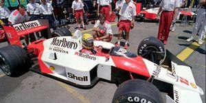 Ayrton Senna's career is chronicled in a movie.