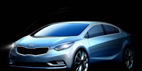The new Kia Forte will be lower, wider and sportier than the outgoing model.