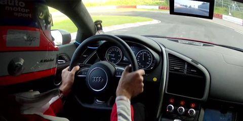 The Audi R8 e-tron tackled the Ring in 8 minutes and 9 seconds.