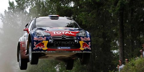 Sebastien Loeb won for the 73rd time on the World Rally Stage on Saturday in Finland.
