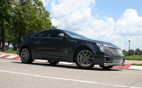 Driver's Log Gallery: 2011 Cadillac CTS-V Coupe