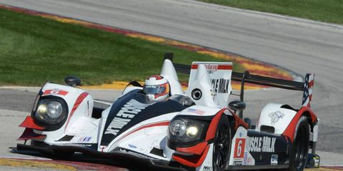 Muscle Milk, which won last year's race at Road America, will start Saturday's race on the pole.