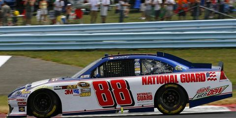 The National Guard extended its sponsorship deal with Hendrick Motorsports through the 2013 season.