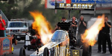 NHRA team owner Don Schumacher has been pushing for canopies for dragsters in the Top Fuel division.
