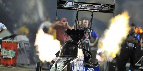Antron Brown heads to Brainerd, Minn., second in the NHRA Top Fuel points.