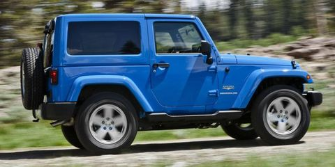 Chrysler uses the Pentastar V6 in a variety of vehicles, including the Jeep Wrangler.