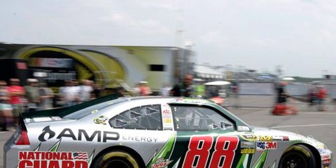Dale Earnardt Jr. is at Watkins Glen this weekend with the Sprint Cup Series points lead.