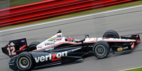 Will Power was quickest in practice at Sonoma on Friday.