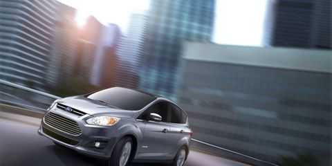 The C-Max Hybrid is perfect for young, eco-conscious families
