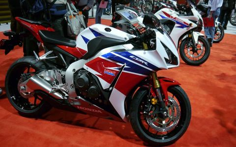 Honda's new 500 cc bikes.