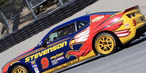 John Edwards and Matt Bell topped a 60-car field at Laguna Seca on Saturday.