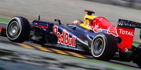Sebastian Vettel will start fifth on Sunday in the Formula One Italian Grand Prix at Monza.