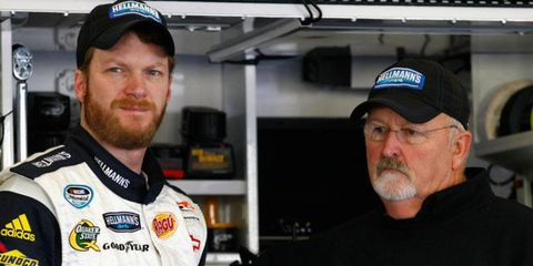 Tony Eury Sr., right, had been with JR Motorsports since 2007. Prior to that, he spent 21 years with Dale Earnhardt Inc.