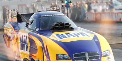 Ron Capps heads into the weekend holding down the fifth qualifying position in the Funny Car class at Indianapolis.