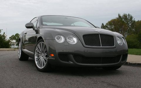 What I drove last night: 2011 Bentley Continental GT Speed Series 51