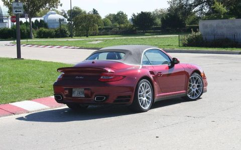 Driver's Log Gallery: 2011 Porsche 911 Turbo Cabriolet