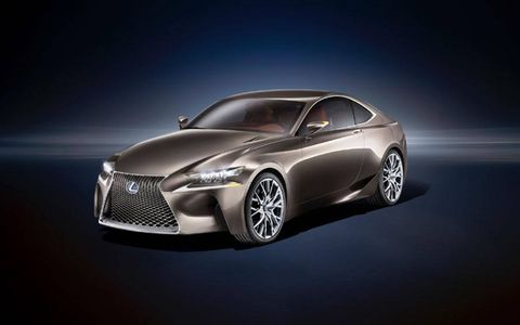 The Lexus LF-CC will debut at the Paris motor show.