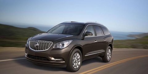 The Buick Enclave will offer three trims for 2013.