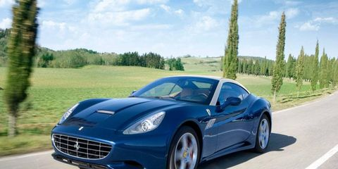 Ferrari has attributed record revenues in part to the success of its V8-powered cars, including the California 30 and the 458 Spider.