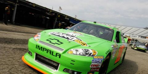 Danica Patrick, who will be racing her first full Sprint Cup season next year, may be working with Ryan Newman's crew.