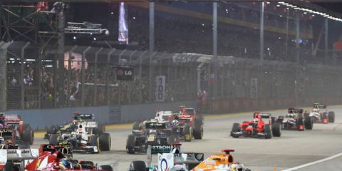 New Jersey is scheduled to host Formula One on Juen 16, 2013.