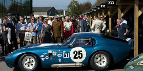 One of Carroll Shelby's most loved cars, the Cobra Daytona.