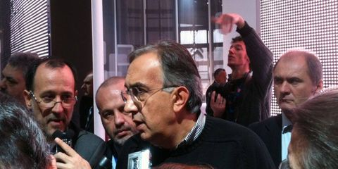 Sergio Marchionne was long on candor when we spoke to him on the floor of the Paris motor show.
