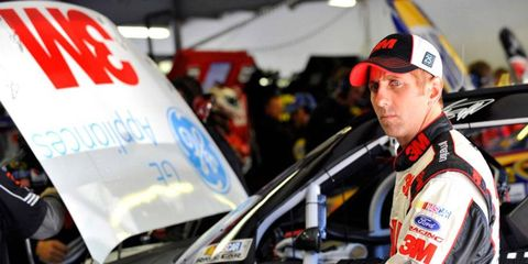 Greg Biffle's 13th place finish at Chicagoland left him 19 points behind Sprint Cup Series points leader Brad Keselowski.