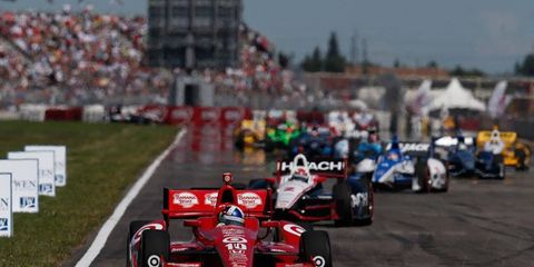 Indy cars have raced on a temporary road course at the Edmonton City Centre Airport since 2005.