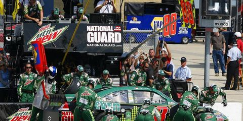 Dale Earnhardt Jr. has faced some distractions over the last few weeks with the shakeups at JR Motorsports. However, he still maintains he's focused on the Chase.