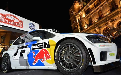 Volkswagen unveiled its 2013 Polo R WRC over the weekend at Monte Carlo.