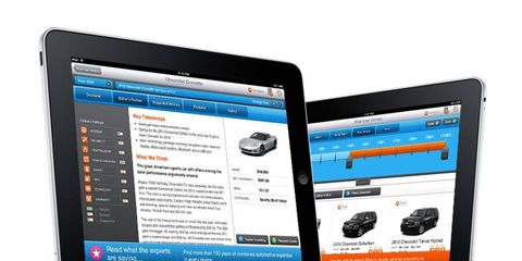 Car shopping just got easier with the free shopautoweek.com iPad app.