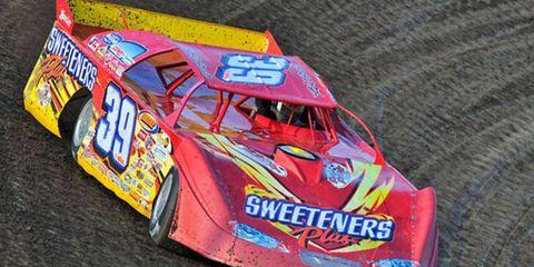 Tim McCreadie took top honors in Saturday's Gander Mountain 150 for 358 modifieds in Syracuse, N.Y.