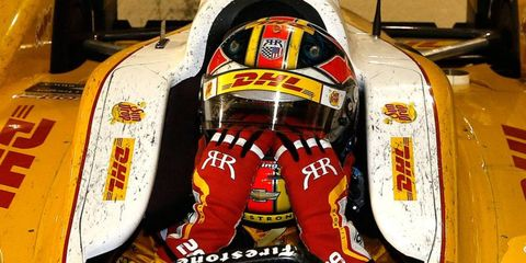 Ryan Hunter-Reay will finally be able to take home the championship trophy on Dec. 5.