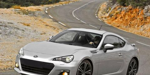 The Subaru BRZ, shown, is the mechanical twin of the Scion FR-S.