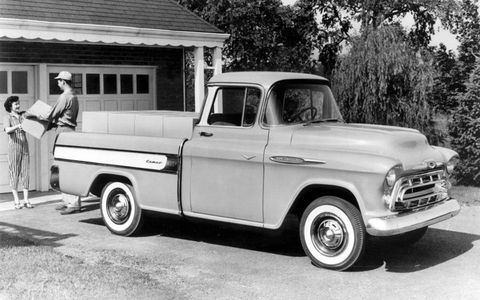 The Cameo show truck from the 1955 Motorama.