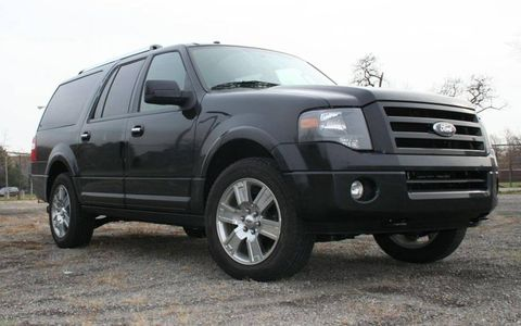 Driver's Log: 2010 Ford Expedition Limited EL